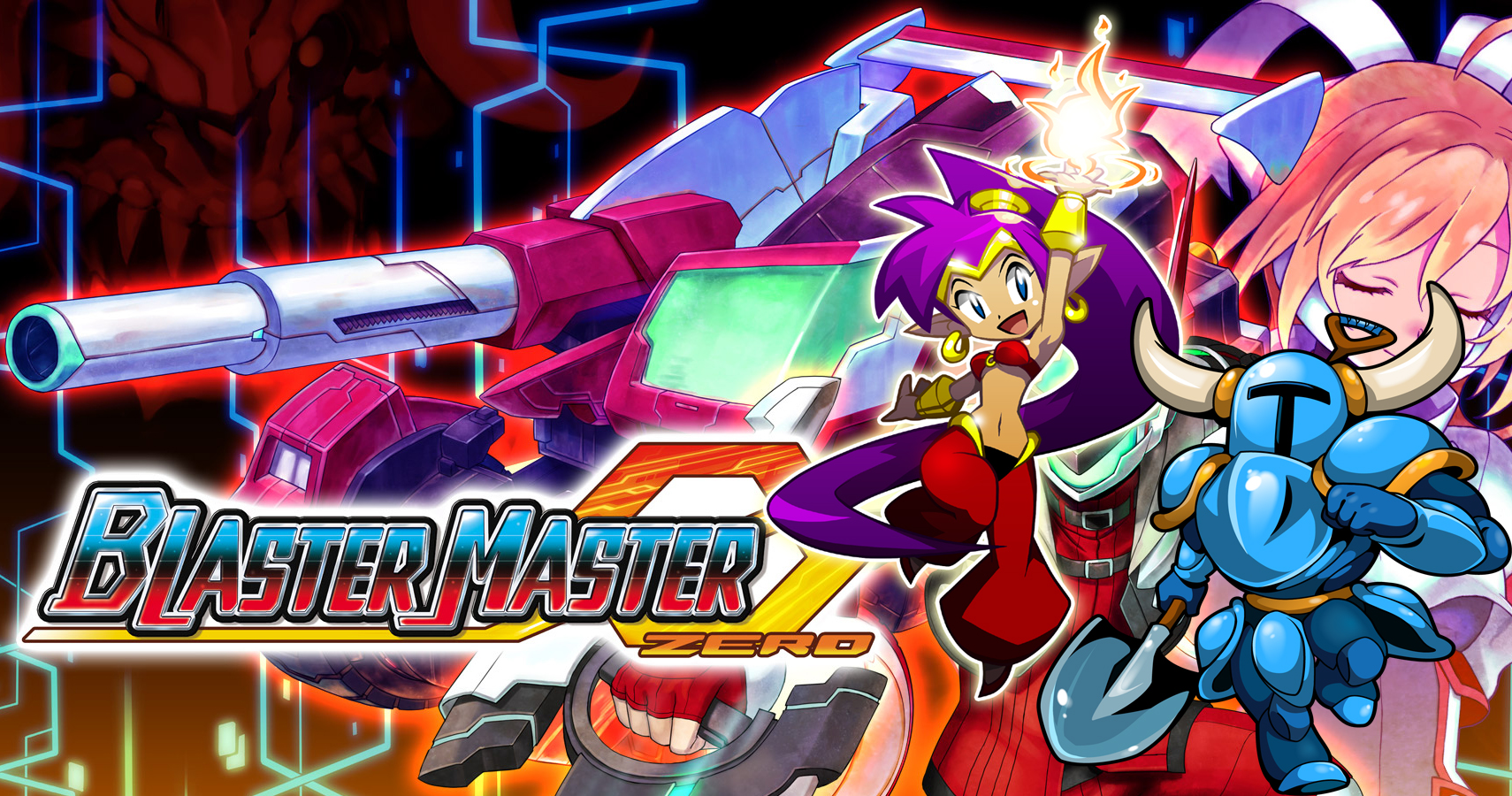 shovel knight and shantae dlc coming to blaster master zero. Black Bedroom Furniture Sets. Home Design Ideas