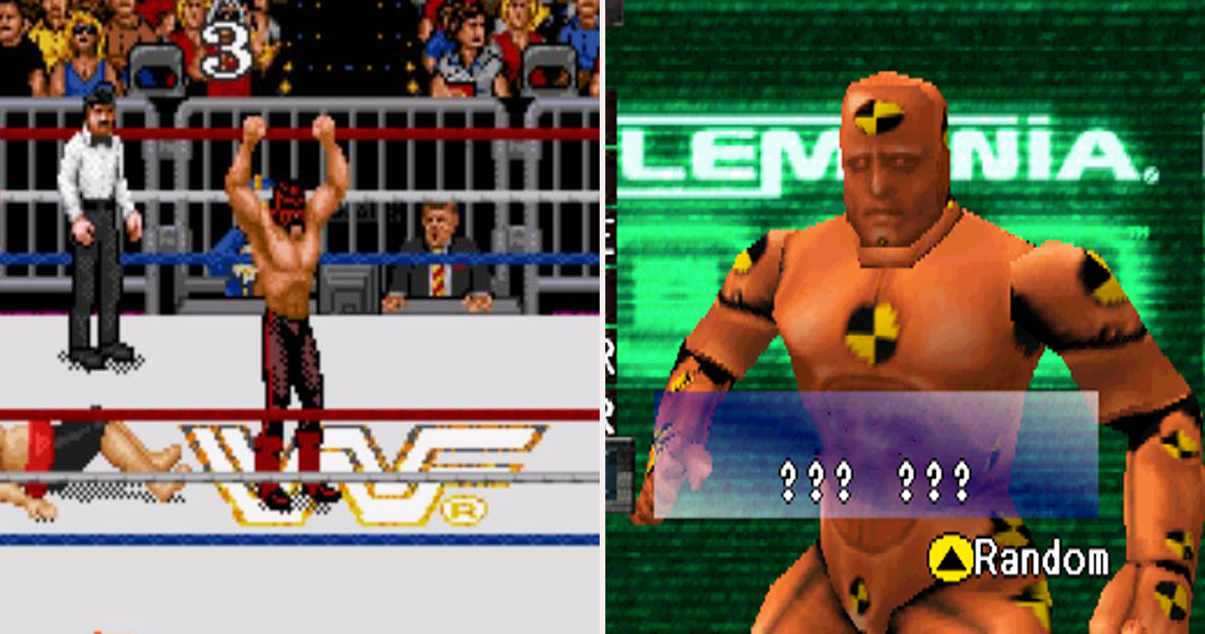 the absolute worst characters in wrestling games