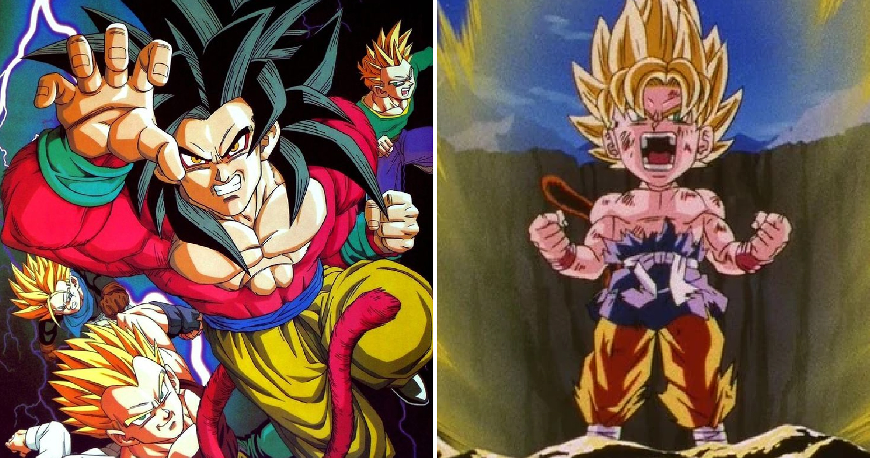 Shocking facts you didn t know about dragon ball gt - Broly dragon ball gt ...